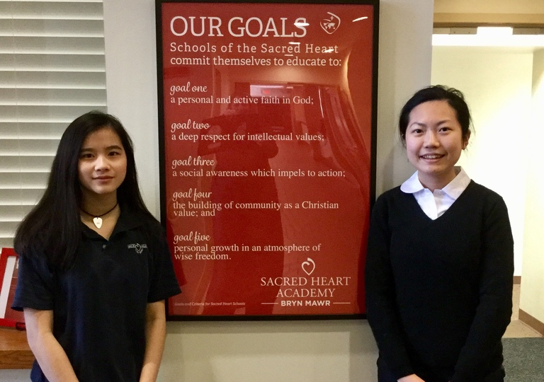 Sacred Heart Network Exchange Student Arrives from Taiwan