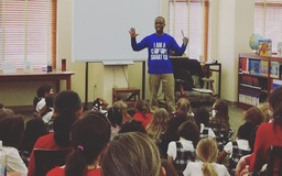 Author Nahjee Grant Visits Library